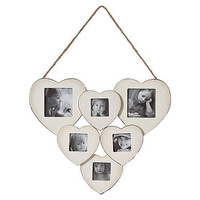 Six Heart Photo Frame