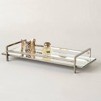 Mirrored Vanity Tray