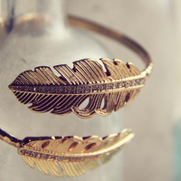 Heirloom Feather Bracelet