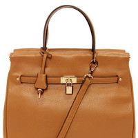 Under Lock and Key Tan Purse