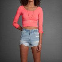 Theresa Cropped Top
