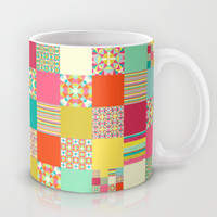 Patchwork Cheater Mug by Jacqueline Maldonado