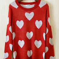 Lovable Swetheart Sweater