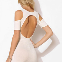 Sparkle & Fade Cold Shoulder Bodycon Dress - Urban Outfitters