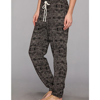 Roxy Sweet Sea Beach Pant True Black Tribal Print - Zappos.com Free Shipping BOTH Ways