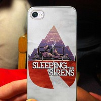 Sleeping With Sirens Cover - OC - iPhone 5 case Black/White Case