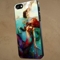 Disney Princesses Magical Design - iPhone 5 case Black/White Case