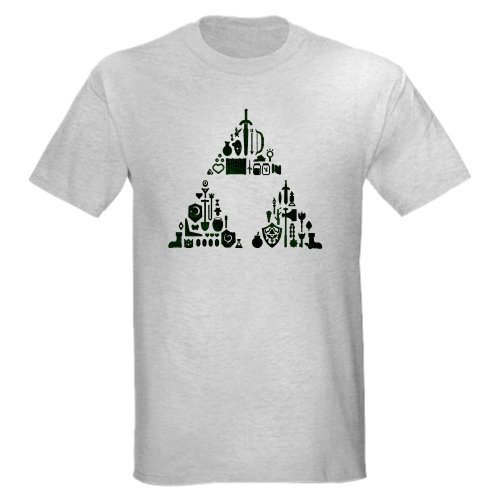 LEGEND OF ZELDA Zelda Light T-Shirt by CafePress