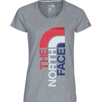 The North Face Women's Logo TShirt USA Dick's Sporting Goods
