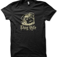 Pug Life Jersey Cotton T-Shirt