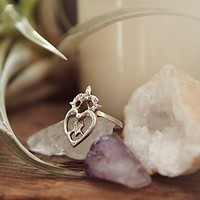 Witches Heart Ring