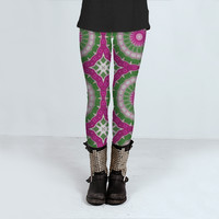 Enchanted Pattern 035 by Mercury McCutcheon (Leggings)