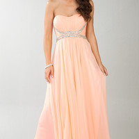 Flowing Floor Length Dress