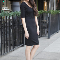 Lucille Black Dress