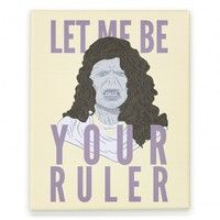 Lorde Voldemort Canvas Print
