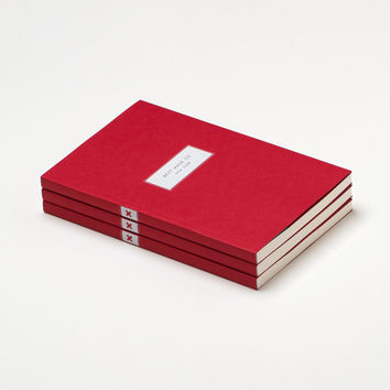Famous Red Notebook - Dotted Notebook