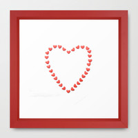 Heart of Hearts Framed Art Print by RichCaspian