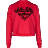 FULL TILT Diamond Girls Hi Low Hoodie