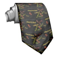 Nice Day Better Night Life Large gifts neck tie