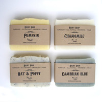Soap set Vegan Soap Gift Set Unscented Soap All by RightSoap