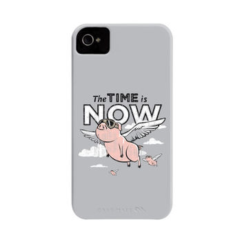 The Time Is Now Phone Case | SnorgTees