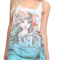 Disney The Little Mermaid Ariel Sketch Tank Top