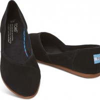 Black Women's Jutti Flats