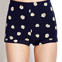 Retro Daisy Shorts