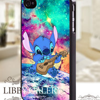 Stitch nebula walt disney cartoon - iPhone 4/4s/5 Case - Samsung Galaxy S2/S3/S4 Case - Blackberry Z10 Case - Ipod 4/5 Case - Black or White