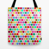 dotty Tote Bag by musings