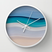 WAVESCAPE Wall Clock by catspaws