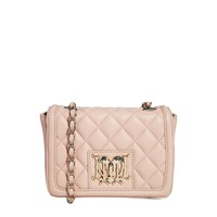 Love Moschino Quilted Logo Small Across Body Bag
