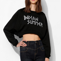 United Couture Indian Summer Cropped Pullover Sweatshirt - Urban Outfitters