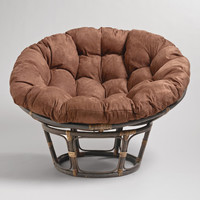 JAVA MICROSUEDE PAPASAN CHAIR CUSHION