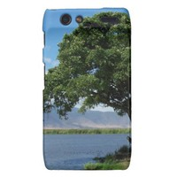 Tree over Water Droid RAZR Case