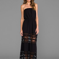 6 SHORE ROAD Charlotte's Maxi Dress in Black Rock