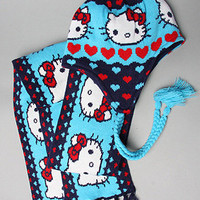 Karmaloop.com - Global Concrete Culture - The Hello Kitty Pom Beanie & Scarf Set by Loungefly
