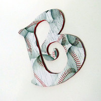 Baseball Decor - Custom Name Baseball Letters