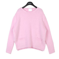Patch Pocket Soft Knit Sweater