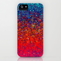 Glitter Dust Background G172 iPhone & iPod Case by MedusArt