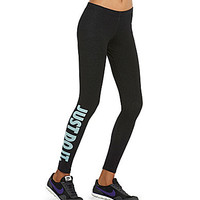 Nike Leg-A-See Just Do It Leggings | Dillards.com