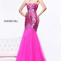 Sherri Hill Dress 21060 at Prom Dress Shop