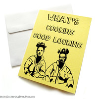 Breaking Bad Valentine - What's Cooking Good Looking Card Valentine's Day