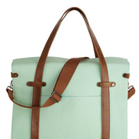 Camp Director Tote in Mint