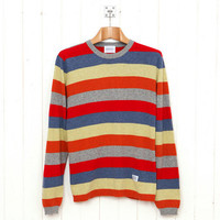 Norse Projects Ola Multi Stripe Knit (Multi) from Oi Polloi