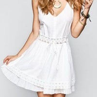 O'neill Cocoa Dress White  In Sizes