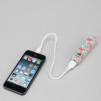 Printed Portable Phone Charger - Urban Outfitters