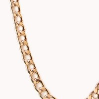 Posh Curb-Chain Necklace