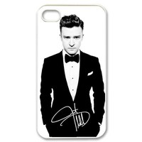 Superstar Justin Timberlake iPhone 4/4S Best Durable Case Cover