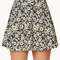Field of Daisies Skater Skirt